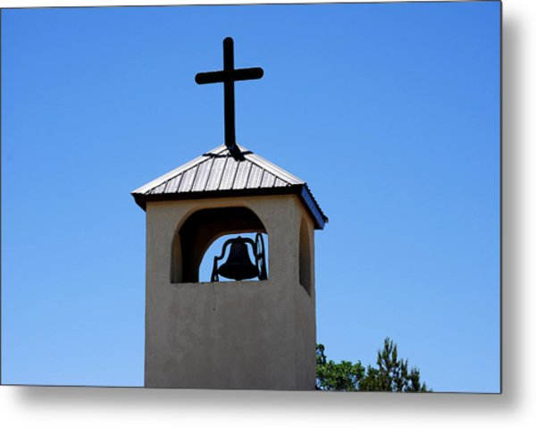 Bell Tower Metal Print by Jon Rossiter