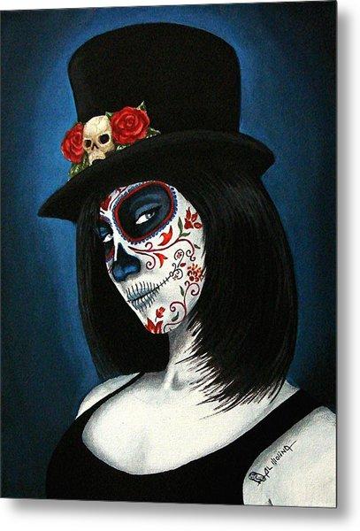 Bella Muerte Metal Print by Al  Molina