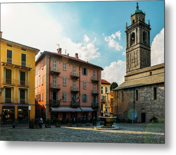 Bellagio, Lake Como, Italy. Metal Print