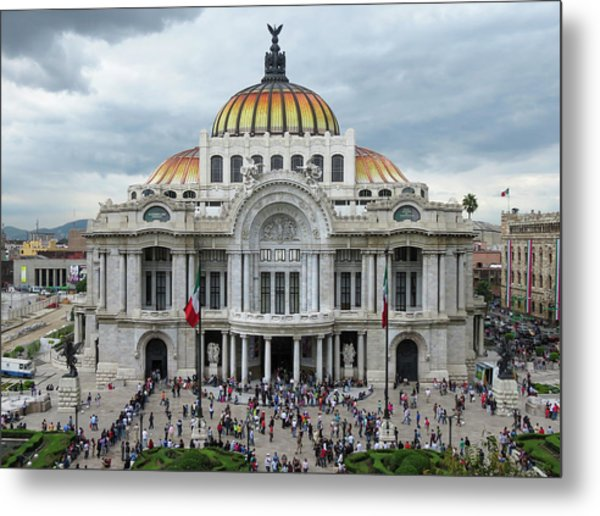 Bellas Artes Metal Print