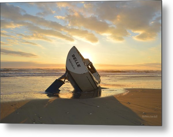 Belle At Sunrise Metal Print