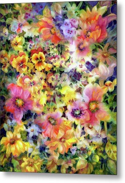 Belle Fleurs I Metal Print