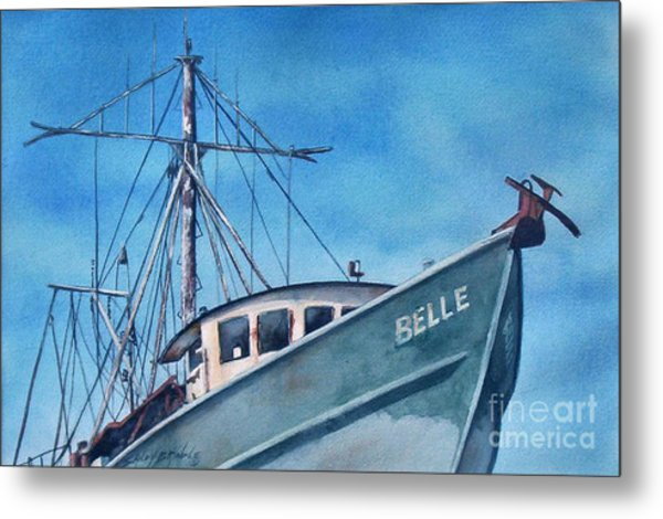 Belle Original Metal Print