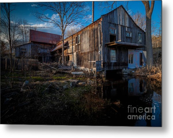 Bellrock Mill Metal Print