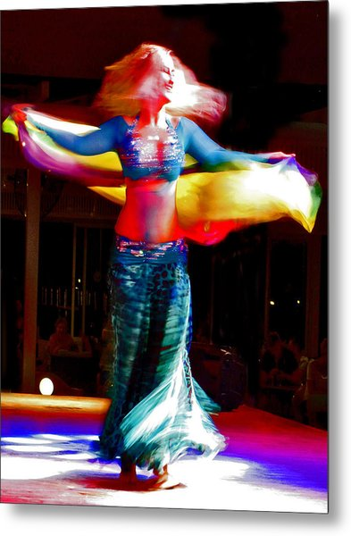 Belly Dance Metal Print