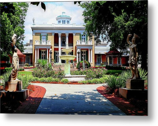 Belmont Mansion Metal Print