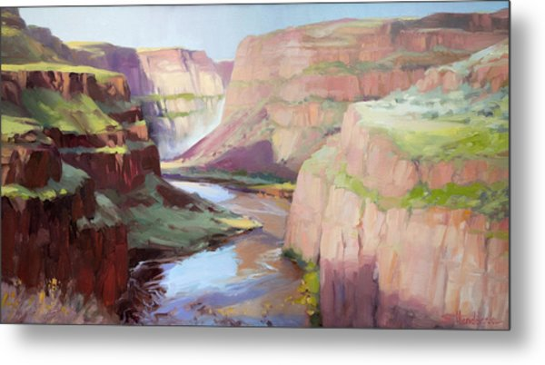 Below Palouse Falls Metal Print