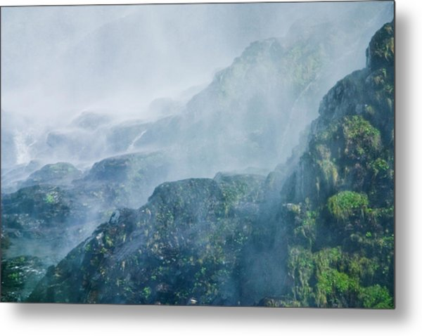 Below Wallace Falls Metal Print