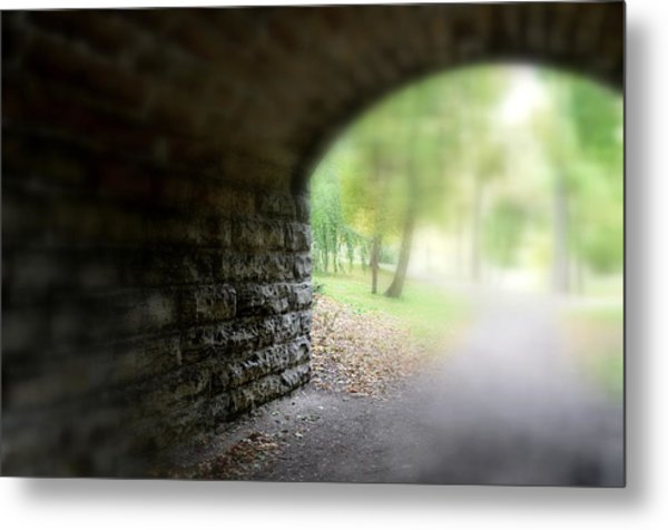 Beneath The Bridge Metal Print