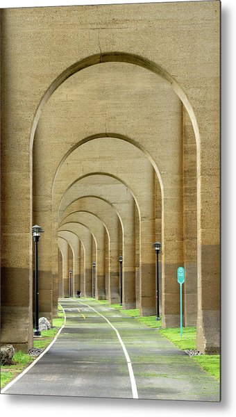 Beneath The Hellgate Metal Print