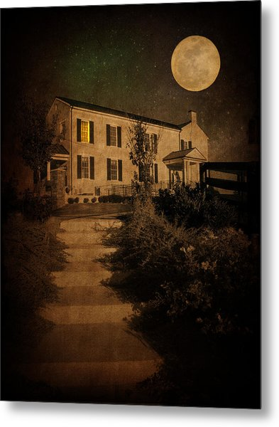 Beneath The Perigree Moon Metal Print