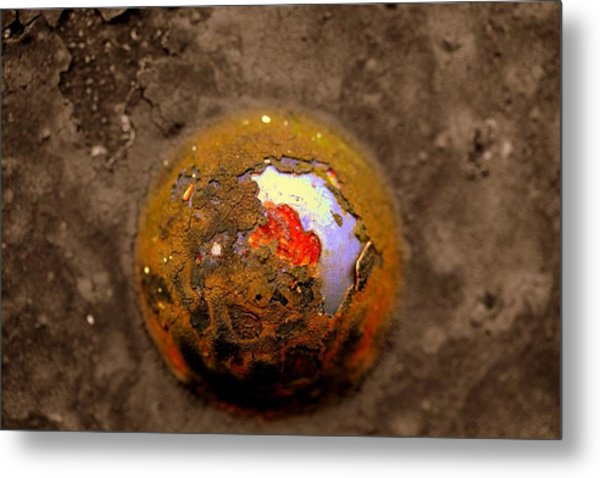 Beneath The Surface Metal Print by Susan Moore