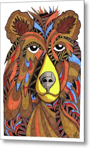 Benjamin Bear Metal Print