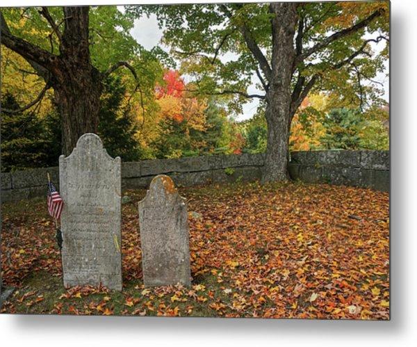 Benjamin Butler Grave Metal Print