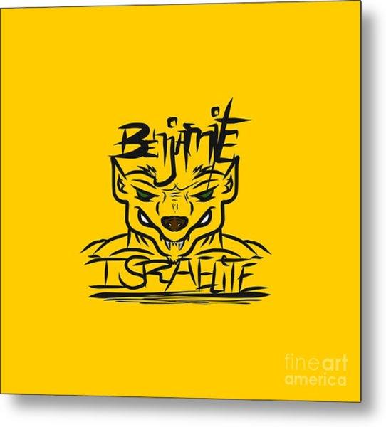Benjamite Israelite Metal Print