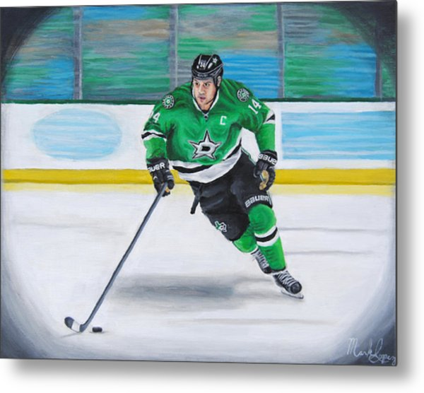 Benn And The Art Metal Print