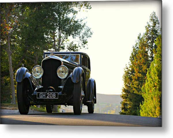 Bentley Speed 6 Corsica Metal Print