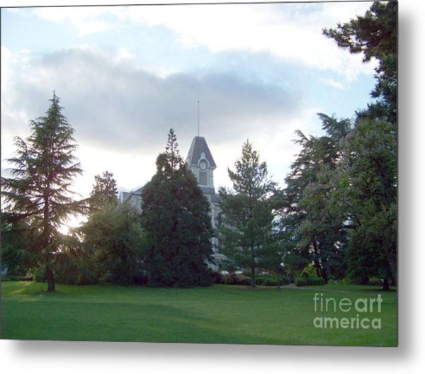 Benton Hall At Oregon State Metal Print