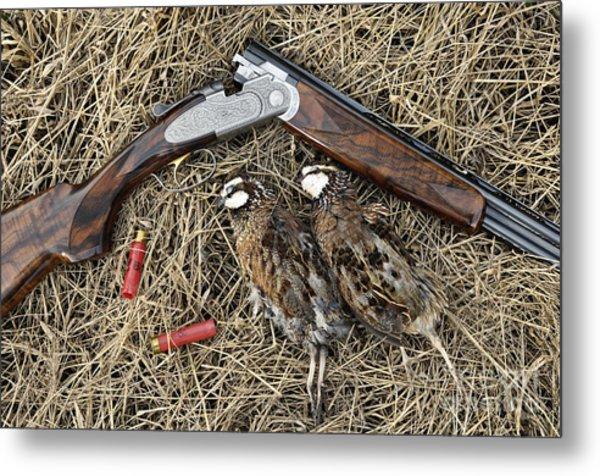 Beretta 28 Gauge - D005559 Metal Print