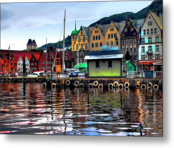 Bergen Colors Metal Print