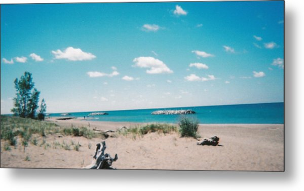 Bermuda Beach Metal Print by Candace Shockley