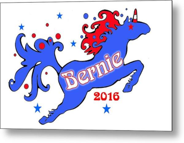 Bernie's Unicorn 2016 Metal Print