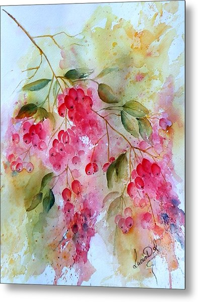 Berries Galore Metal Print by Lucia Del