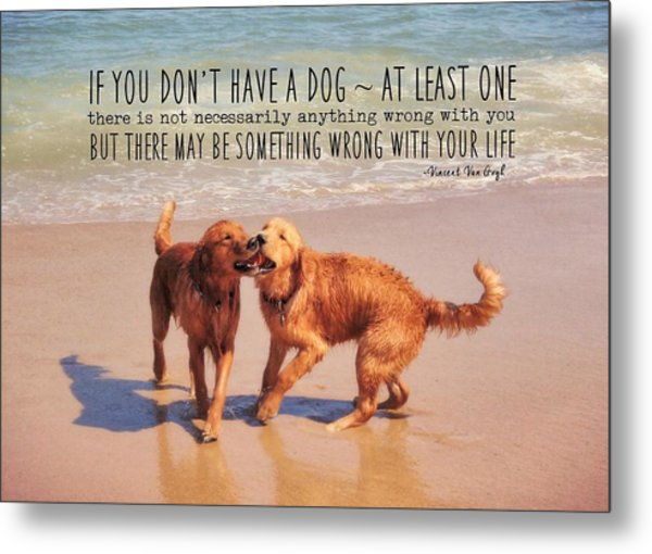 Best Buds Quote Metal Print by JAMART Photography