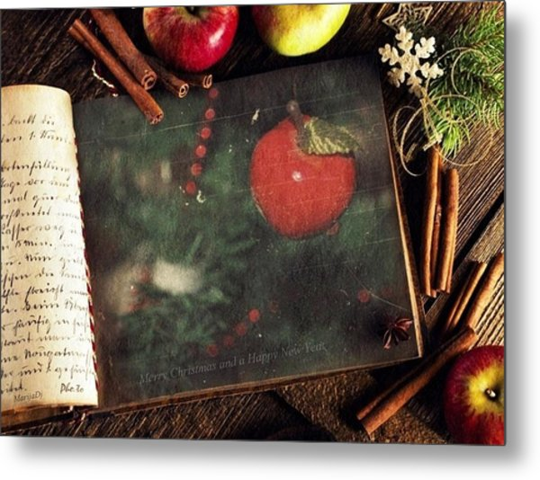 Best Christmas Wishes Metal Print