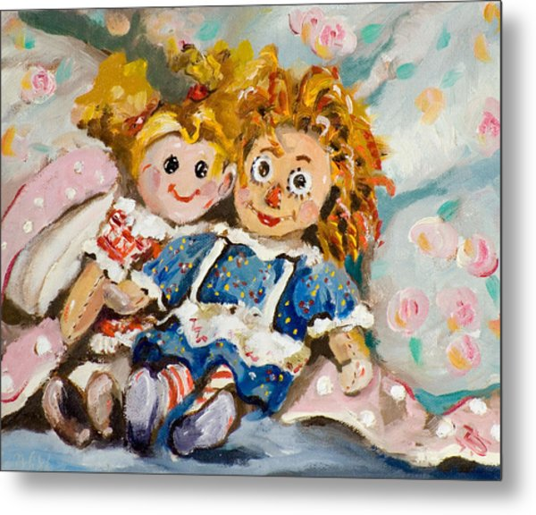 Best Friends Metal Print by Delilah  Smith