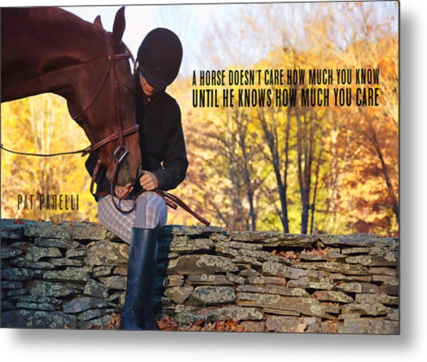 Best Friends Quote Metal Print by JAMART Photography