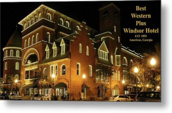 Best Western Plus Windsor Hotel - Christmas -2 Metal Print