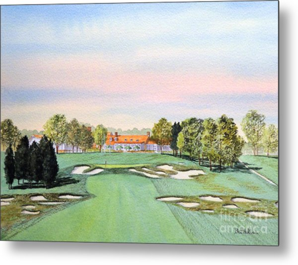Bethpage State Park Golf Course 18th Hole Metal Print
