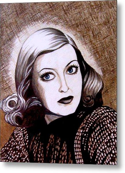 Bette Davis 1941 Metal Print