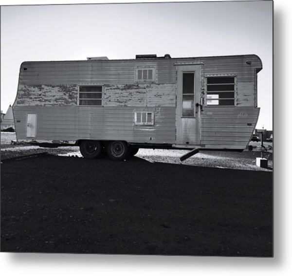 Better Days On Route 66 Metal Print