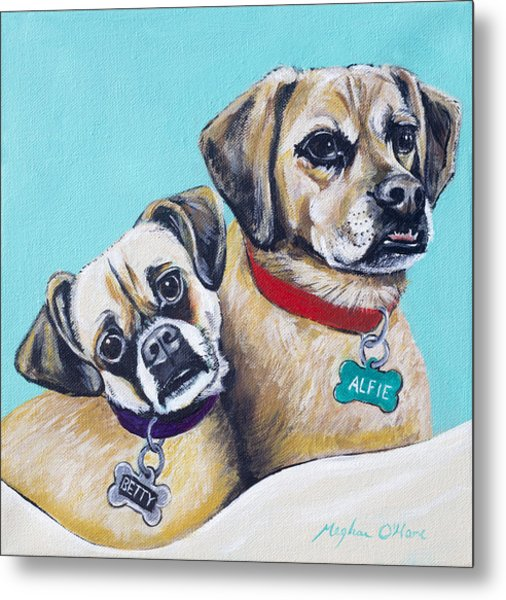 Betty And Alfie Metal Print