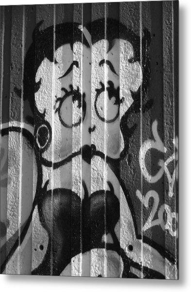 Betty Boop ... Metal Print