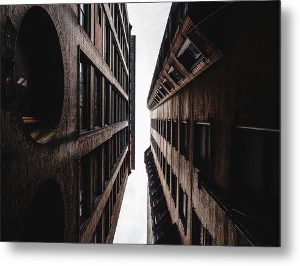 Between Buildings In Saint Louis Metal Print by Dylan Murphy