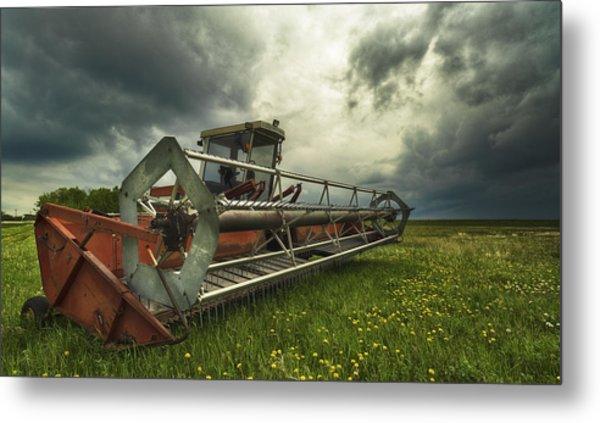 Between Storms Metal Print by Stuart Deacon