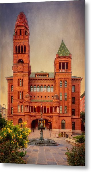 Bexar County Courthouse Metal Print