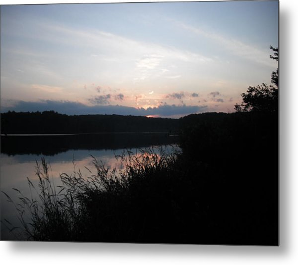 Beyond Dusk Metal Print by Candace Shockley