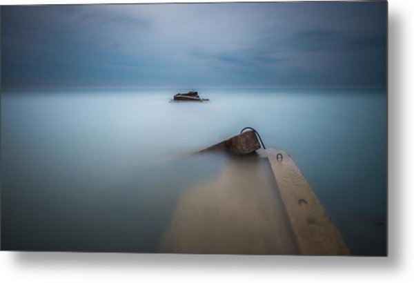 Beyond The End Metal Print
