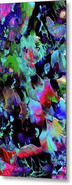 Beyond The Webbed Galaxy Metal Print