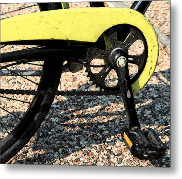 Bicycle 2 Metal Print by Gary Everson