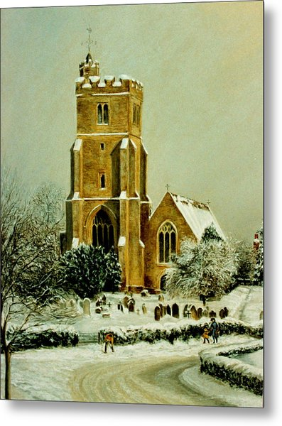 Biddenden Church Metal Print