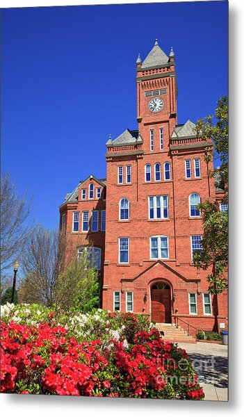 Biddle Hall In The Spring Metal Print