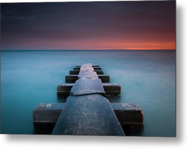 Big Bay Metal Print