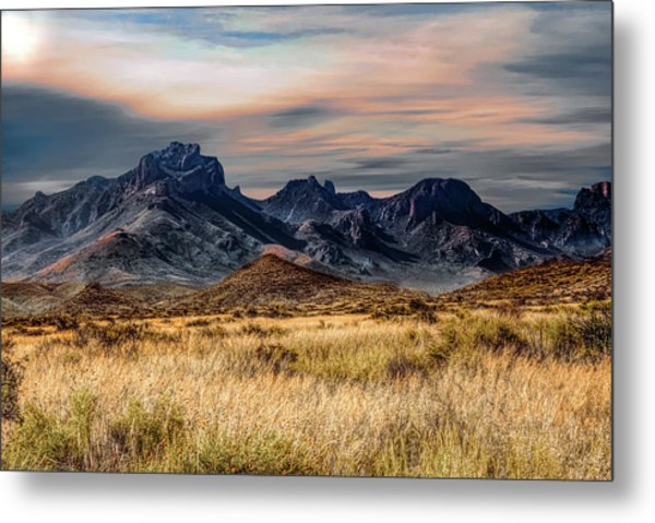Big Bend Hill Tops Metal Print
