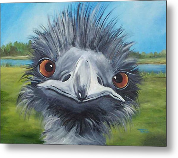 Big Bird - 2007 Metal Print by Torrie Smiley