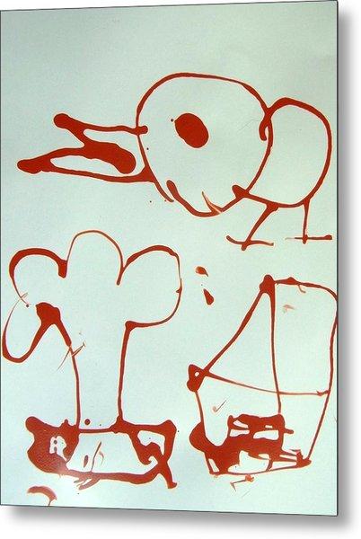 Big Bird Metal Print by Nanak Chadha